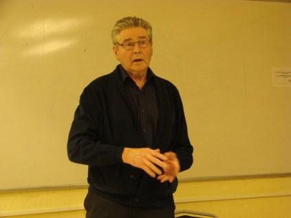 Sören Svanberg berättar om sitt dammbygge