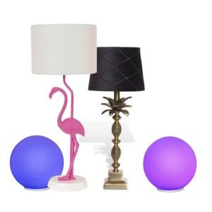 Dekor ljus och lampor