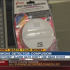 Kitchen Smoke Detector Appliances For Restaurant Alarm Confusion Safe Or Not