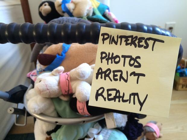 Pinterest photos aren't reality.
