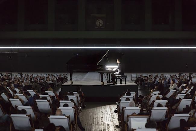 Igor Levit at the piano.