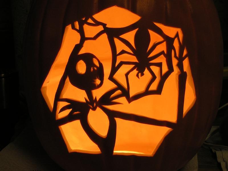 Zero Nightmare Before Christmas Pumpkin Stencils Printable
