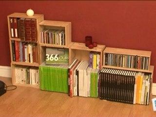 deco brico jardinage fabriquer un meuble bibliotheque pas cher