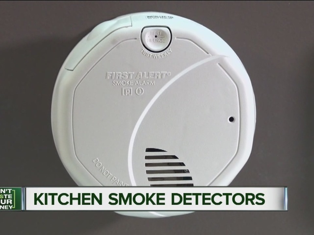 kitchen smoke detector glass for cabinets alarm confusion safe kitchens or not
