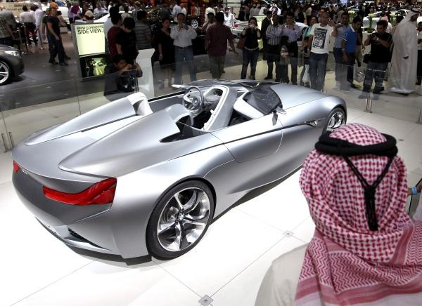 Los mejores autos en Dubai
