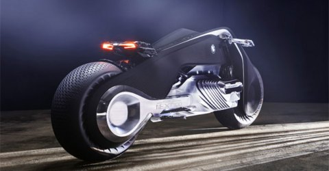 The New BMW Motorrad Vision Next 100, The Bike Which Don't Fall