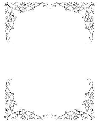 wedding invitation clip art borders free clipart pin it pinterest