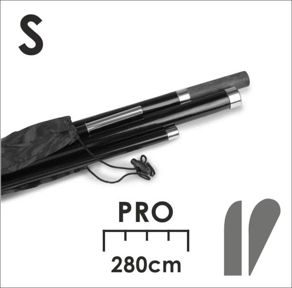 Maszt flagowy WINDER pro S 280 cm