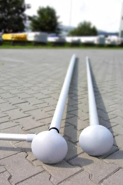 Maszt aluminiowy cylindryczny