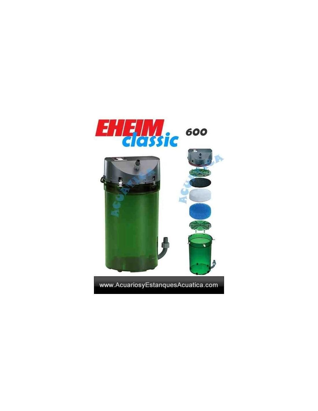 EHEIM CLASSIC FILTROS EXTERNOS ACUARIOS