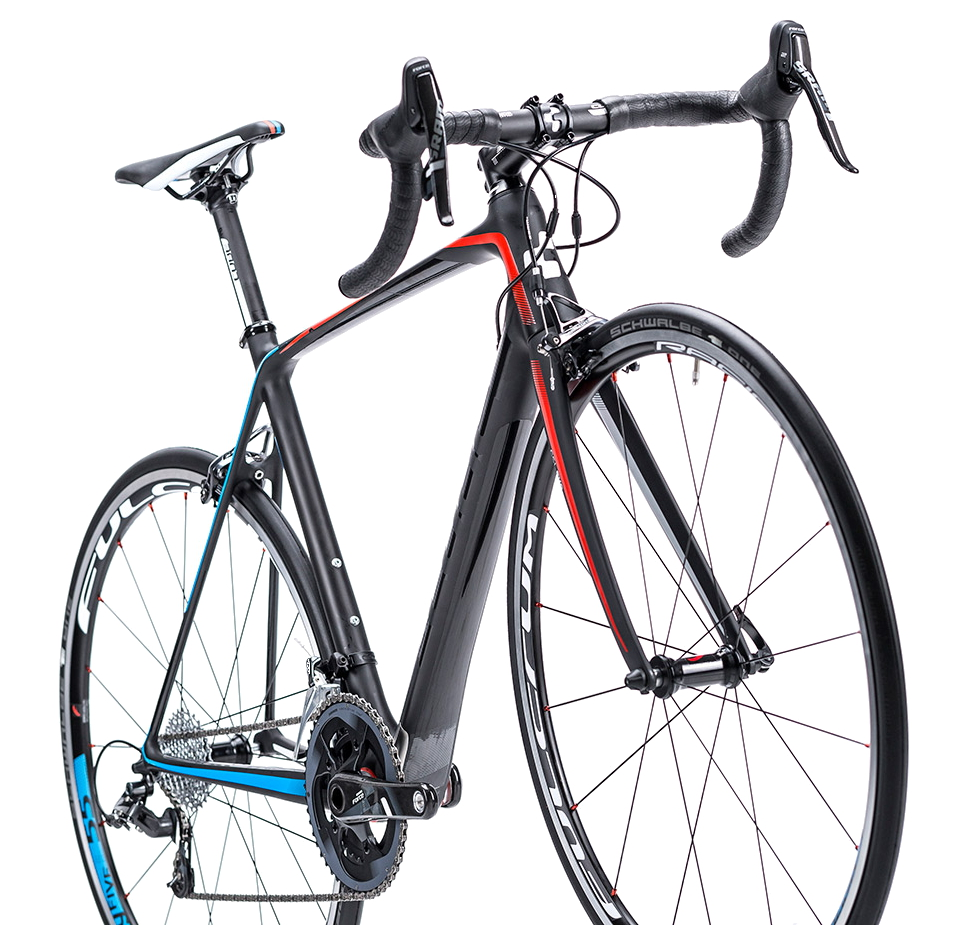 CUBE 2015 Road Bike LITENING SUPER HPC PRO Black Red Blue