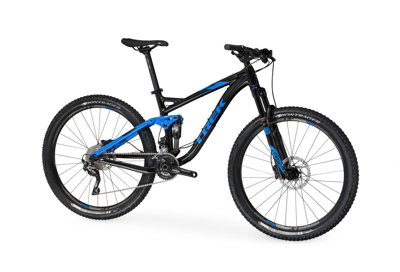 Trek Fuel Ex 7 27 5 Suspension Bike Black Blue