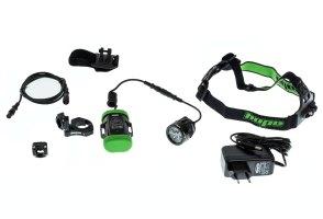 HOPE Lampe R4 LIGHTWEIGHT + Batterie 1x2 Cellules Noir ...