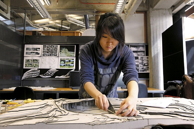 Student from Auckland University School of Architecture.