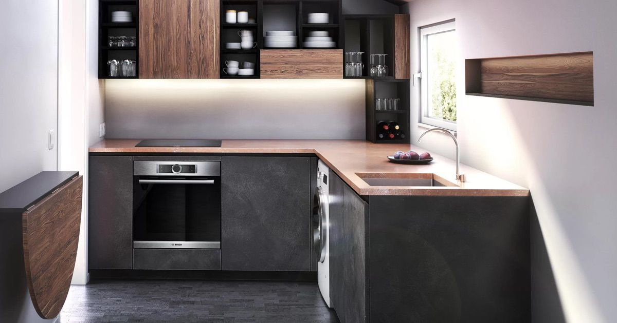 inspiring small kitchen design and