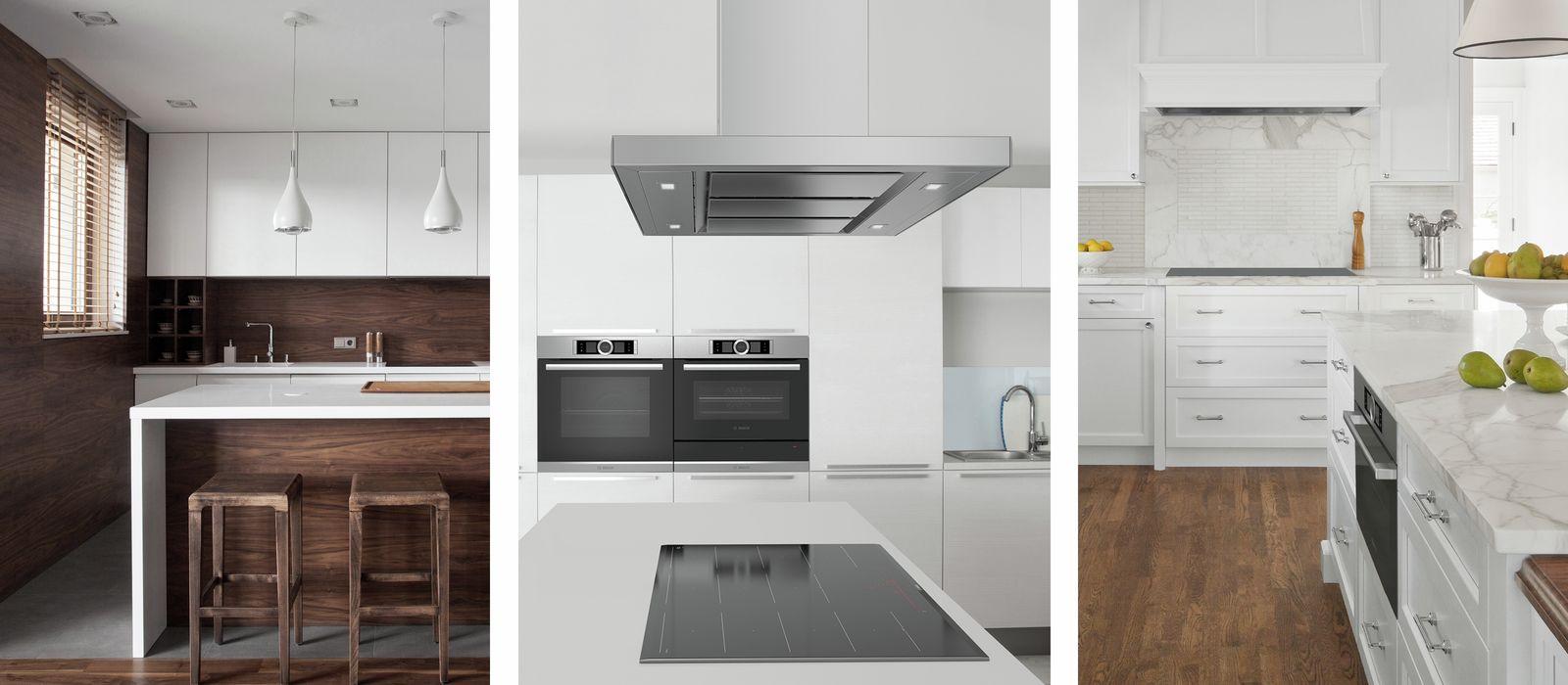 kitchen planners contractors 博世厨房规划师 bosch 步骤2 选择形状 风格和颜色