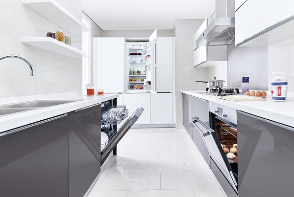 kitchen planners island stools with backs 博世厨房规划师 bosch 独立房间 中 15 25 m 双排型 现代