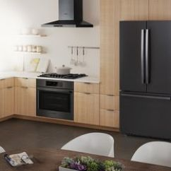 Stainless Steel Kitchen Tall Square Table Black Appliances Bosch Daringly Different Infinitely Beautiful