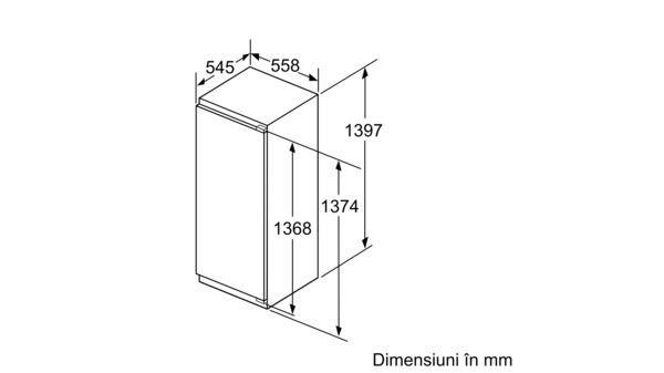 Serie | 6 Frigider încorporabil cu compartiment de congelare integrat 140 x 56 cm KIL52AF30 KIL52AF30-4