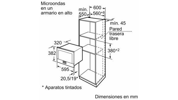 Microondas con Tecnología Innowave Maxx Acero inoxidable