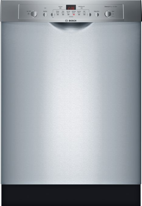 Bosch Dishwasher Silence Plus 50 Dba Manual : bosch, dishwasher, silence, manual, BOSCH, SHE3AR75UC, Dishwasher