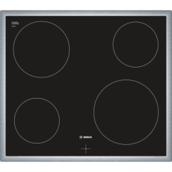 Bosch Kitchen Appliances Floor Cupboards 60 Cm Ceramic Hob - Serie | 4 Nke645g17