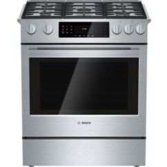 Kitchen Stove Gas Cost To Remodel Small 30 Slide In Range Hgip054uc Stainless Steel Benchmark