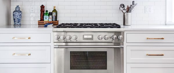 kitchen stove gas inexpensive backsplashes for kitchens 36 inch ranges cooking by thermador range white subway tile
