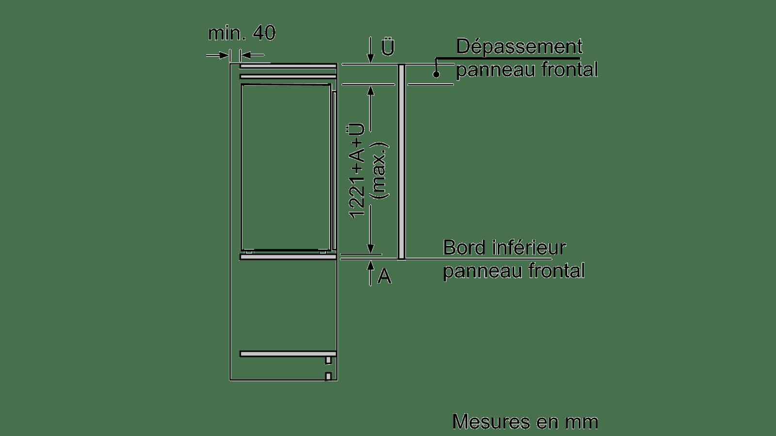 neff ki2423f30 refrigerateur