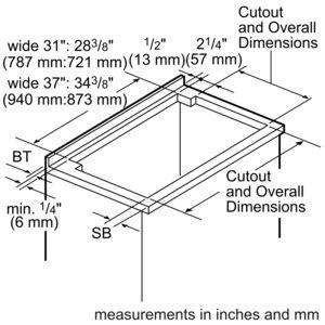 Masterpiece® Series 30 inch Downdraft UCVM30FS
