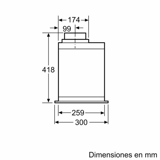 Mdulo de integracin Ancho 70 cm  iQ700  LB79585  SIEMENS