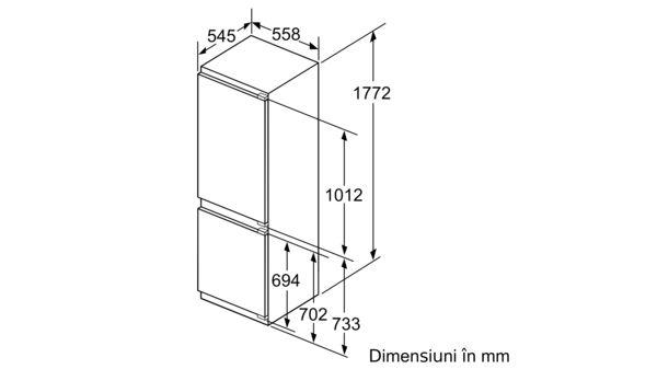 N 70 Combină frigorifică încorporabilă KI6863F30 KI6863F30-6