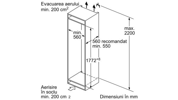 N 70 Combină frigorifică încorporabilă KI6863F30 KI6863F30-5