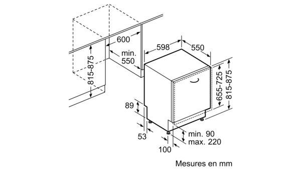 siemens sn65l083eu lave vaisselle 60 cm