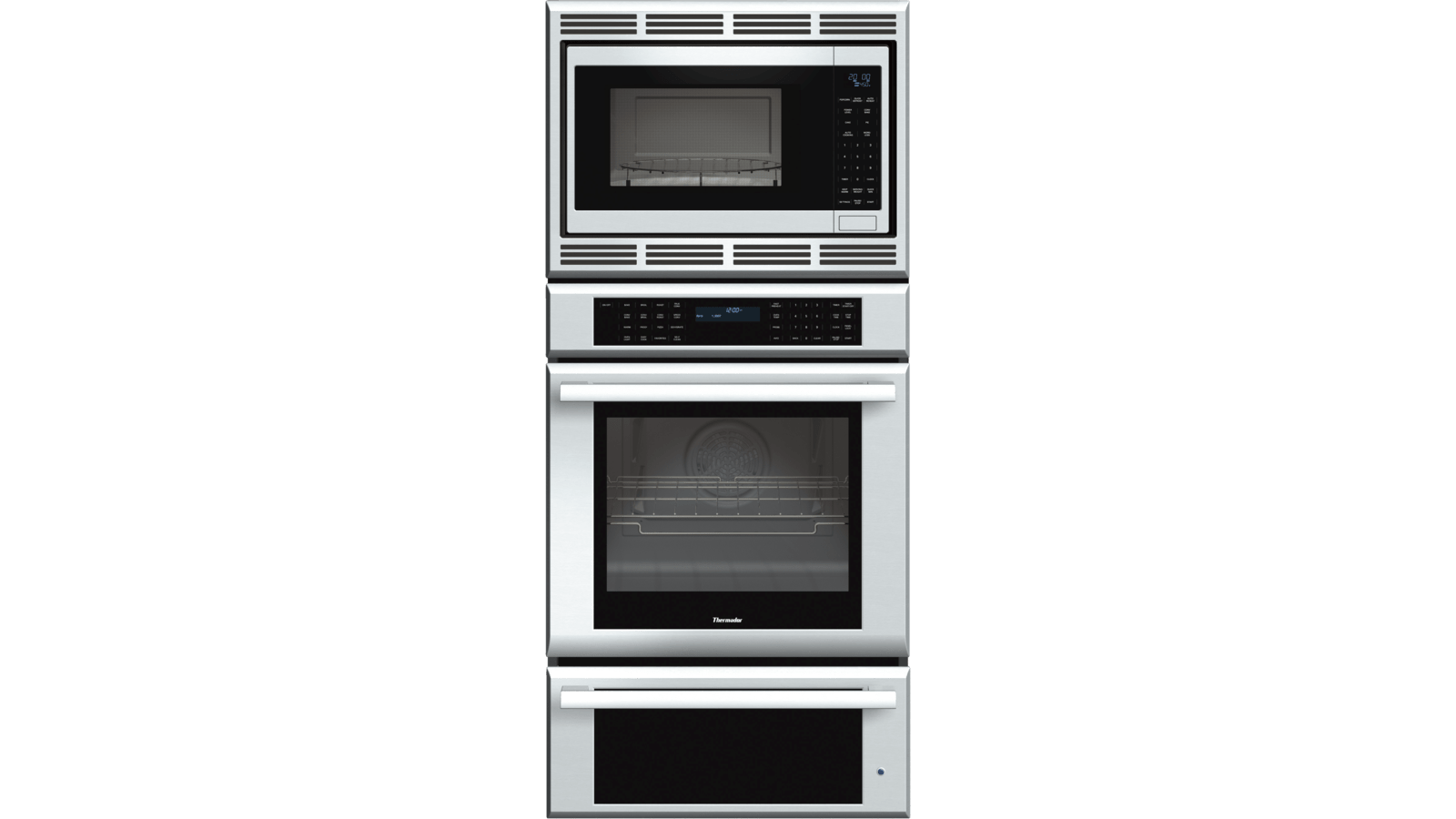 thermador medmcw71js triple wall oven