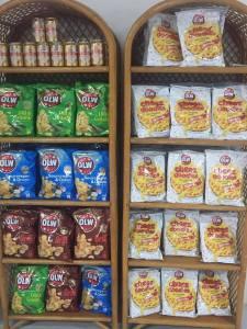 OLW Ostbågar och Chips på Cajutan i Bangkok