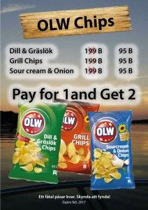 OLW Chips på Cajutan i Bangkok