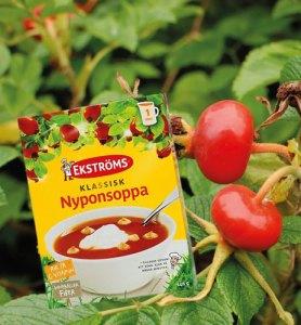 Ekströms Nyponsoppa finns att köpa på Cajutan i Bangkok