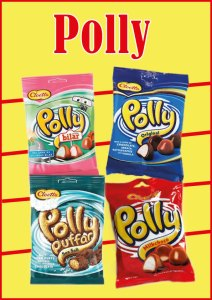 Polly imported from Sweden. Now available in new flavors ..... Polly original Polly milkchoco Polly Sea Salt and Polly Ahlgrens bilar at Cajutan food shop in Bangkok