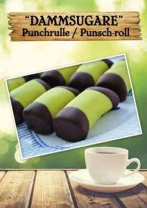 Punsch-roll or Dammsugare, you can call it whatever you want. This Swedish Cookie is amazing! Now available at Cajutan food shop in Bangkok