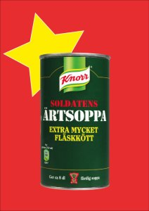 Swedish Soldiers pea soup, ärtsoppa, now in stock at Cajutan in Bangkok
