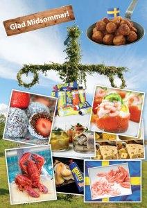 Svensk midsommarmat, köper du på Cajutan i Bangkok