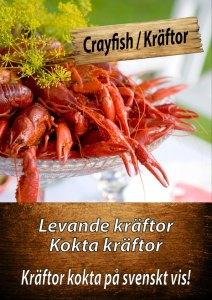 Crayfish at Cajutan in Bangkok