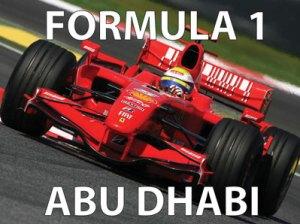 Formula 1 from Abu Dhabi at Cajutan in Bangkok