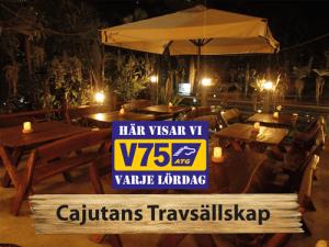 Vi visar V75 på Cajutan i Bangkok