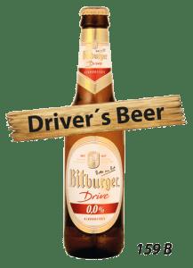 Alcohol free beer at Cajutan in Bangkok