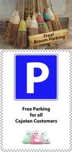Free parking at Cajutan in Bangkok