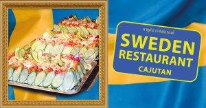 Swedish Sandwich Cake on Cajutan in Bangkok