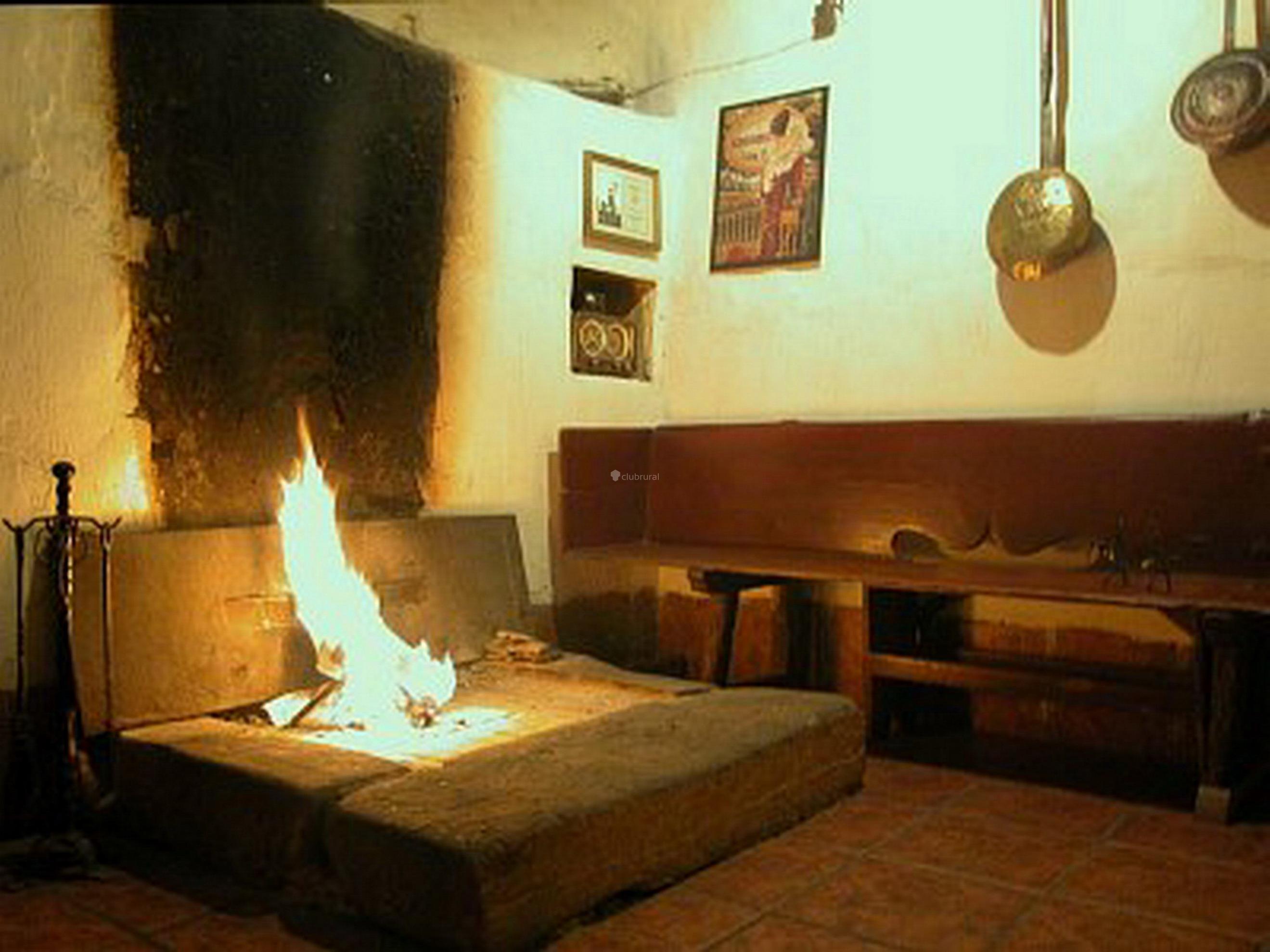 Habitacion Con Chimenea Galicia