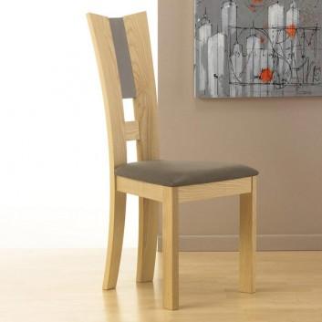 chaise contemporaine bois massif